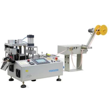 Automatic Hot Knife Webbing Cutter with Hole Punching