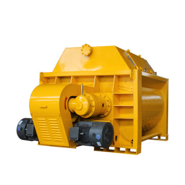 Continuous hand operated concrete mixer