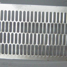 6mm thick stainless steel perforated sheet
