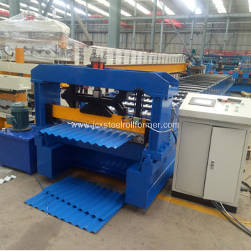Corrugated sheet manufacturing forming Machine