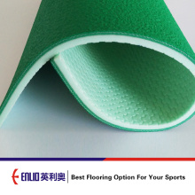 PVC sports floor for badminton court