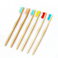 Natural Medium Bamboo Toothbrush For Hotel