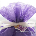 Purple Rose Embossing Butterfly Mother's Day Gift Bag