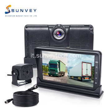 Dash Camera DVR Monitor e Backup Camera