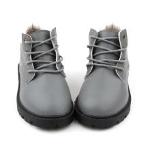Handmade Hard Sole Baby Leather Boy Martin Boots