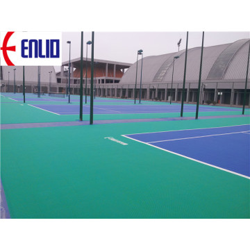Easy Install Modular Tennis Court Tiles