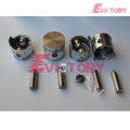 TOYOTA 4Y 4P piston cylinder liner sleeve kit