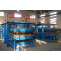Multifunctional color steel sandwitch panel peoduction line