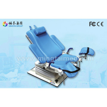 Electric hydraulic obstetric examination table