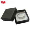Black eyelash gift box printing with spot UV