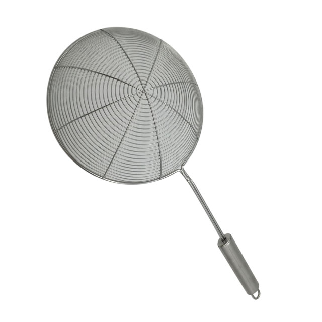 Stainless Steel Skimmer Strainer With Long Handle 3