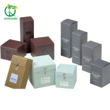Cosmetic packaging boxes with mirror card outside card