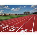 SGS IAAF Certificated Pavement Materials Courts Sports Surface Flooring Athletic Running Track