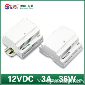 Personlized Products for China Din-Rail Power Supply,Din-Rail Power Supply 12Vdc,Din Rail Power Supply Applications Supplier Din rail Power Supply 12VDC 36W 60W supply to Russian Federation Suppliers