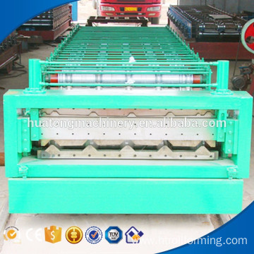 Double layer r panel metal moulding roll forming machine