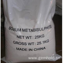 Best Quality for Cmc For Food CAS 7681-57-4 Sodium Pyrosulfite Sodium Metabisulfite export to Seychelles Supplier