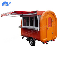 Good Quality for Food Cart Customized Multifunction Food Truck Trailer Mobile Type export to Yugoslavia Factories