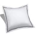 Hotel Cotton Sateen Stitch Pillow Covers