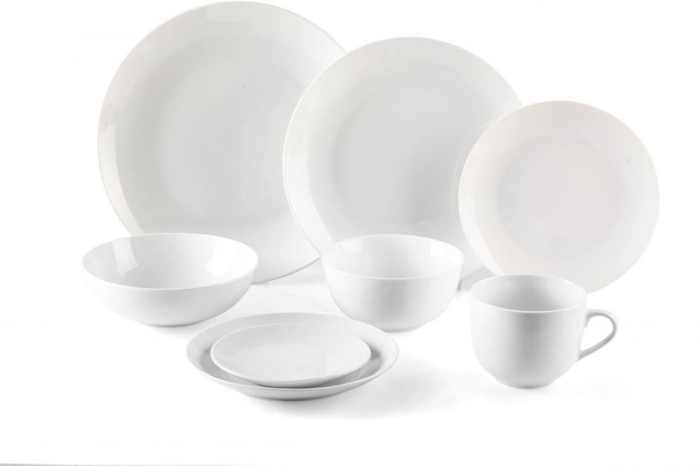 16pcs 20pcs 30pcs High White Porcelain Custom Dinnerware