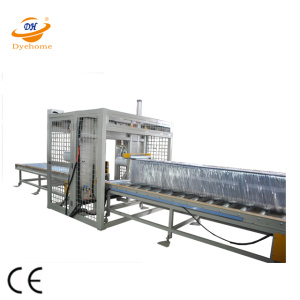 Sandwich Ring Pallet Stretch Wrapper Machine