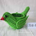 Plastic Rope Bird Shape Flower Pot