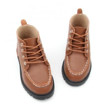 New Arrival Wholesale Leather Baby Boy Martin Boots