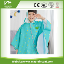 Polyester Cheap Waterproof Kids Raincoats and Ponchos