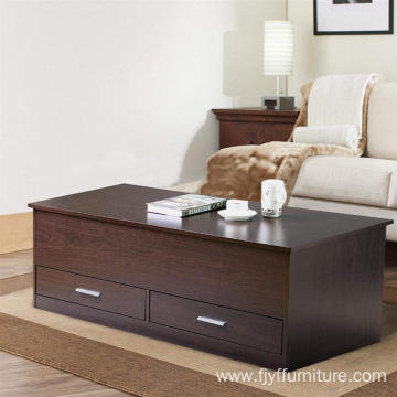 Wood Modern Lift Top Coffee Table