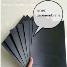 HDPE geomembrane white and black lining