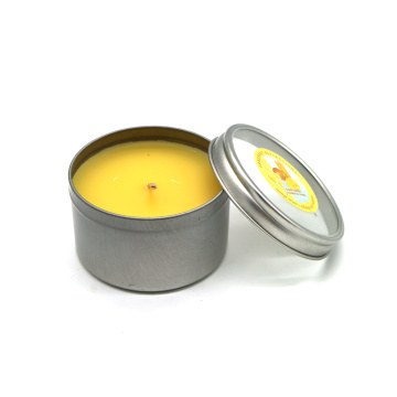 Personalized Scented Tin candles For Decoration