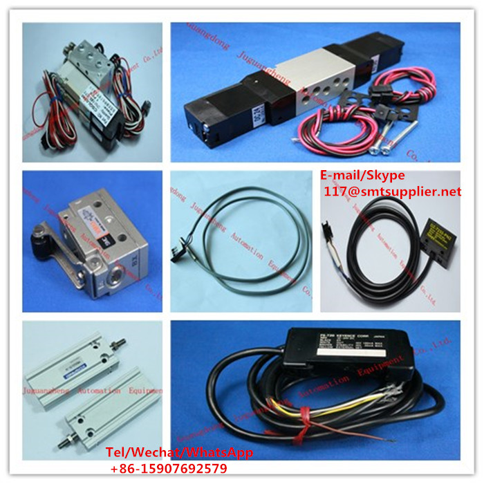 (J) SMT Sensor, Value, amplifier, air cylinder