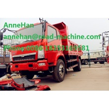Good Quality for Tipper Truck HOWO 4X2 right hand drive  tipper truck export to Palestine Factories