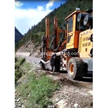 Highway Guardrail Drilling Machine