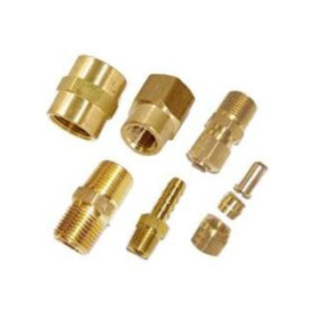 Brass cnc turning auto parts
