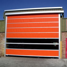 Automatic Durable Fold Up High Speed Door