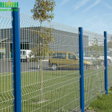 3D curved welded mesh panel fence hot sale