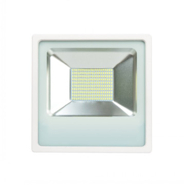 50W White Housing LED Flood Light