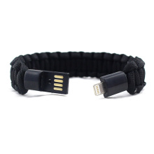 Original Factory for Charger Bracelet,Beaded Charger Bracelet,Leather Charger Bracelet Manufacturers and Suppliers in China Iphone paracord charging cable bracelet accessories supply to Russian Federation Wholesale