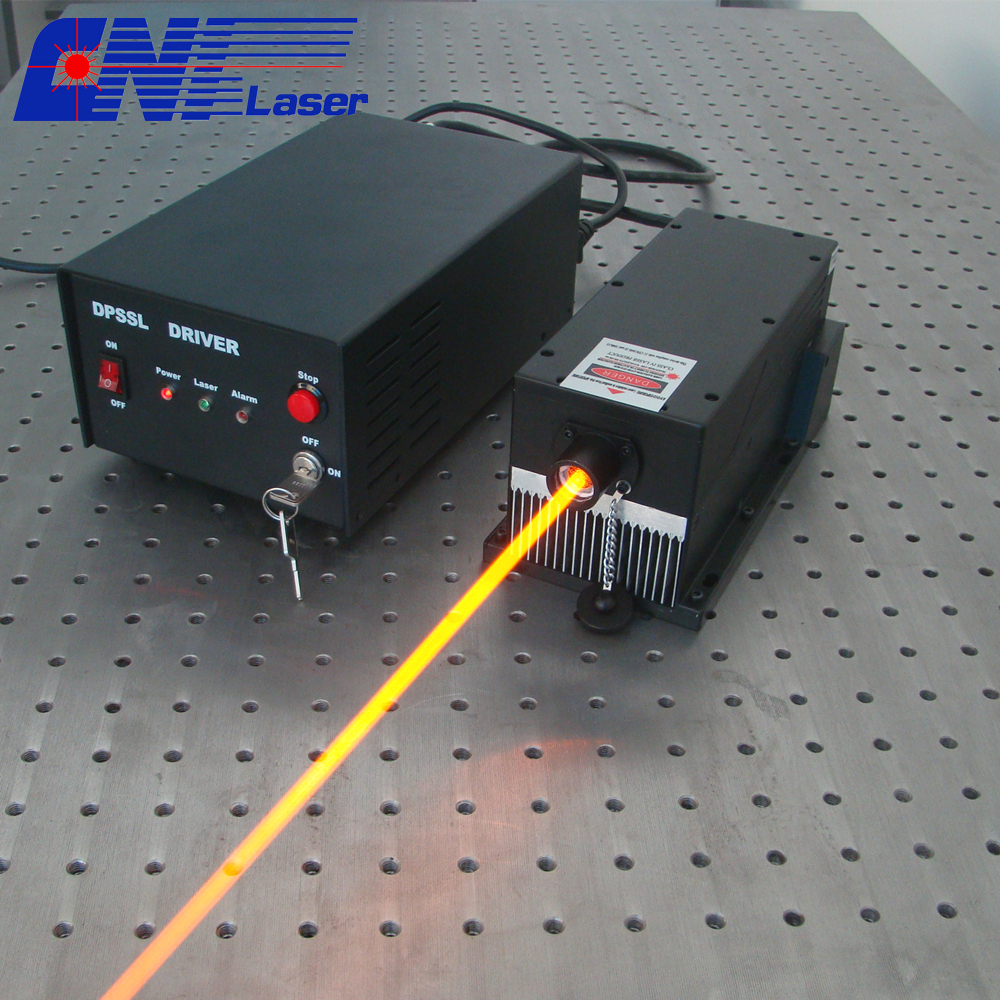 800mw 589nm long lifetime orange laser for measurement