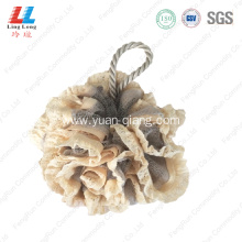 Wholesale microfiber net sponge lace bath ball