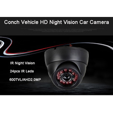 Super shockproof car camera hemisphere type AHD
