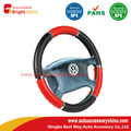 Auto Steering Wheel Cover Black And Red