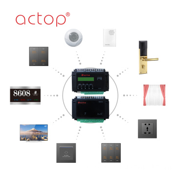 GRMS Hotel Management Software Custom Door Plate Socket Wall Switch TV PC Data Touch Glass Metal Plastic Switch Panel