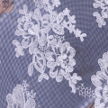 Fashion European Bridal Wedding Dress Cord Embroidery Fabric