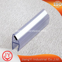 Best Quality for Shower Screen Seal Magnetic 90 Degree Waterproof PVC Seal Strip export to Germany Exporter