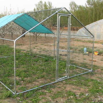 8x3x2m metal chicken coop