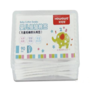 Safe Round Head Infant Special Cotton Swab