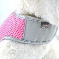 Pink Large Airflow Mesh Harness with Velcro