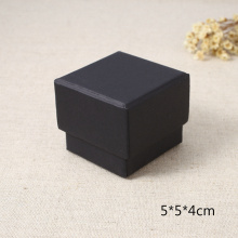 China New Product for  Black Square Gray Board Lid and Base Box export to Lithuania Factory