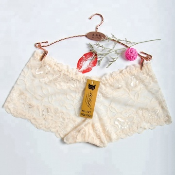 Fresh six colors mature women in satin panties
